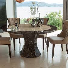 circular marble dining table gallery round room tables intended for inspirations 13