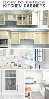 kitchen cabinet refacing design ideas diy best cabinets refinish