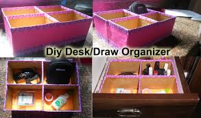 Diy Desk Organizer Diy Desk Organizer Draw Organizer With Cardboard Boxes Niya