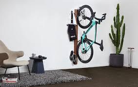 vertical wall bike rack