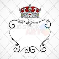 vintage frame design png. Stock Illustration Of Square White Vintage Frame With Crown Brush Flourishes And Crisscrossed Background Design Png