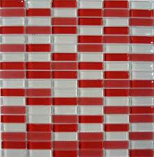 Kitchen Backsplash Red Kitchen White And Red Mosaic Glass Tile Backsplash Ideas Live