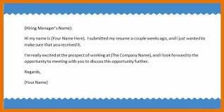 mail format for sending resume to manager follow up letter sample  jpgcaption - Sample Follow Up