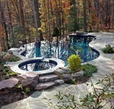 Infinity Pool Backyard Minimalist Cool Design Ideas