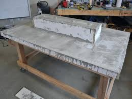 concrete table top 5 remove the mold and flip the table concrete table top  mix australia