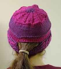 Ponytail Hat Knitting Pattern Delectable The Best Free Knit Ponytail Hat Patterns Aka Messy Bun Beanies A