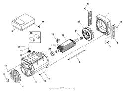 briggs and stratton power products watt bspp home alternator 192388