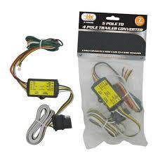 5 wire pole to 4 wire pole trailer converter wire connector image is loading 5 wire pole to 4 wire pole trailer