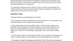 Restaurant Head Waiter Resume Sample Sidemcicekcom Server Nice