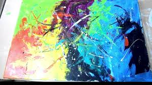 astonishing abstract art painting technique with acrylic pic of styles and classical concept
