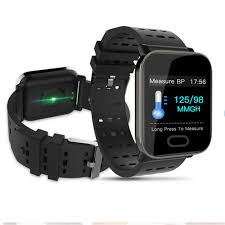 <b>Smart Watch A6</b> Men Women <b>Heart</b> Rate Monitor Blood Pressure ...