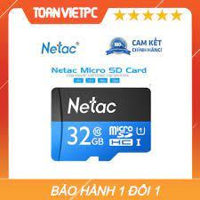 Thẻ Nhớ Netac 32GB - Tốc Độ Đọc Chuẩn Class 10
