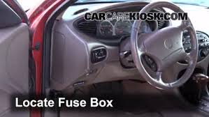light answers to all your questions the video above shows how to replace blown fuses in the interior fuse box of your 1995 ford aerostar in addition to the fuse panel diagram location