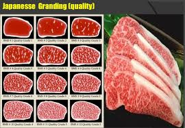 Japanese Beef Grading Chart Beef Knowledge