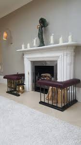 aged aubergine leather upholstered seats enriched by the deep natural grey of the zebright finish set of fire place seating