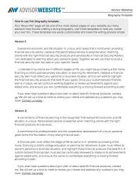 Download Biography Template 02 Biography Templates