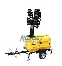 Light Tower For Sale Hot Item 9meters High Mast Led Mobile Light Tower For Sale