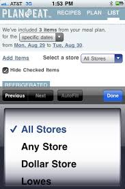 Create Shopping Lists For Multiple Stores - Plan To Eat - Plan To Eat