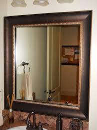 mirror frame. Mirror Frame Kit Traditional-bathroom