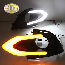 compare prices on mitsubishi mirage lights online shopping buy sncn led daytime running light for mitsubishi mirage 2016 2017 car accessories waterproof abs 12v