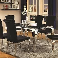 Coaster Carone Contemporary Rectangular Dining Table Value City