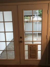 idaho pet door glass install