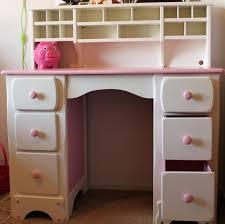 girls desk furniture. Lil PINK \u0026 White Desk Re-finished Girls Furniture X