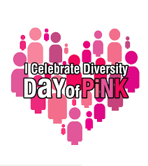 International day of Pink April 10th - wear your pink shirt