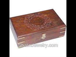 wooden jewellery box artifacts and crafts in india