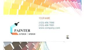 painting company business card template by tablet desktop original size back to painter business card