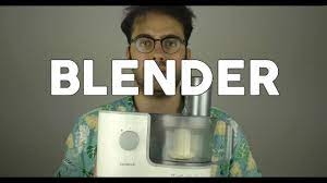 Brand New Blender - YouTube