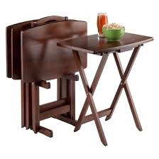 Decorative Tv Tray Tables 100 Piece Oblong TV Tray Set Walmart Com Inside Tv Sets Idea 10
