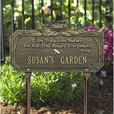 garden sign garden center sign ideas