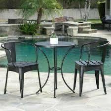 cast iron bistro table black with silver 3 piece metal round outdoor bistro set cast iron