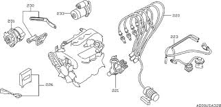 1998 nissan maxima oem parts nissan usa estore engine electrical d