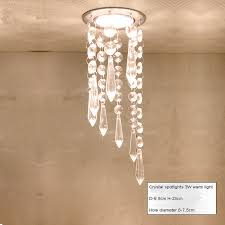 led 3w rgb spot ceiling recessed down light chandelier crystal pendant lighting