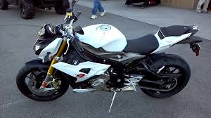 2014 BMW S1000R IN WHITE - YouTube