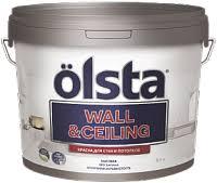 <b>Olsta Wall&Ceiling</b> / Ольста Вал Целинг <b>краска</b> акриловая для ...