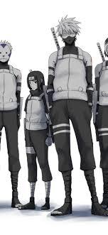 Anbu Squad Kakashi Itachi Yamato 4K ...