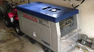 honda diesel generator. Honda Diesel EB12d Generator Vs DoD Subaru YouTube