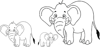 Large Coloring Pages Family Coloring Sheets For Preschool My Family
