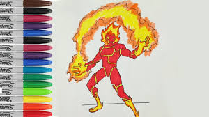 heatblast playing fire coloring book page ben 10 alien sailany coloring kids