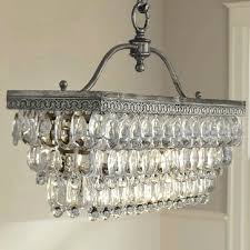 glass drops for chandeliers glass drop rectangular chandelier by pottery barn used this chandelier for clients