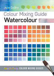 Artist Color Mixing Chart Buy Colour Mixing Guide Watercolour Colour Mixing Guides