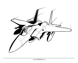 drawn jet army jet 1