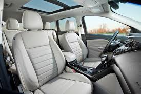 the 2016 escape s optional panoramic sunroof adds a welcome touch of luxury