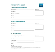 Referral Form Templates Client Referral Agreement Template Customer Letter Business