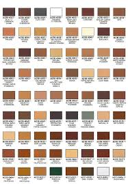Mohawk Color Chart Mohawk Fil Stik Blendal Stick Color Checklist Moffitt