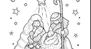 Nativity Coloring Pages Printable Home Improvement Three Wise Men