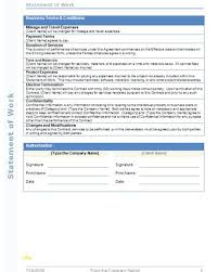 It Sow Template Statement Of Work Template For Professional Services Fresh 30 Of